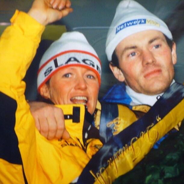Klasina Seinstra en Henk Angenent