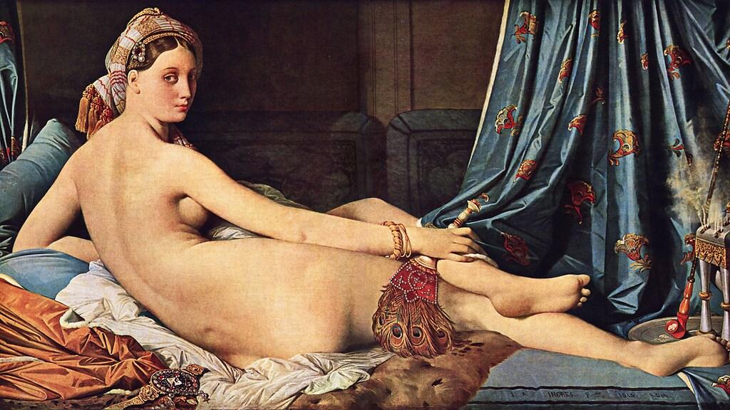 La grande odalisque - Jean-Auguste-Dominique Ingres
