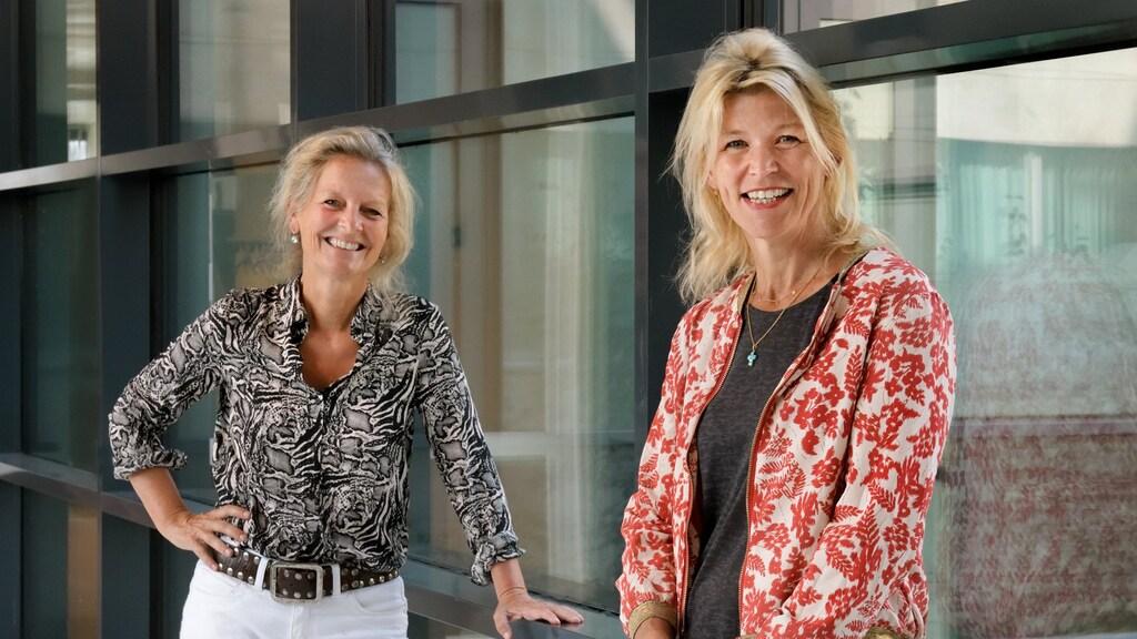 Hester Oldenburg en Marie-Jeanne Vrancken Peeters