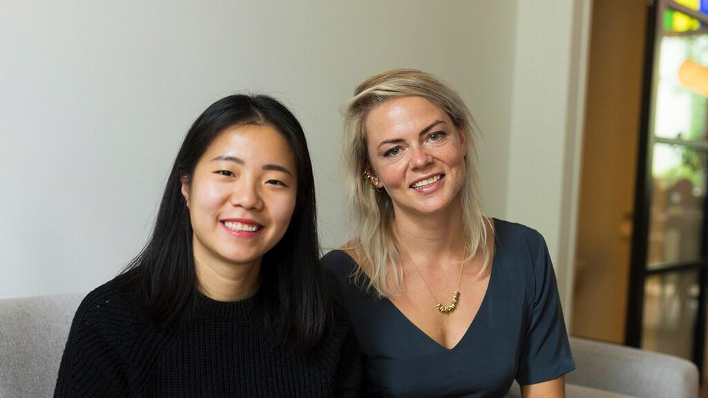 Grip Co-founders Ling Lin en Anne Marie Droste