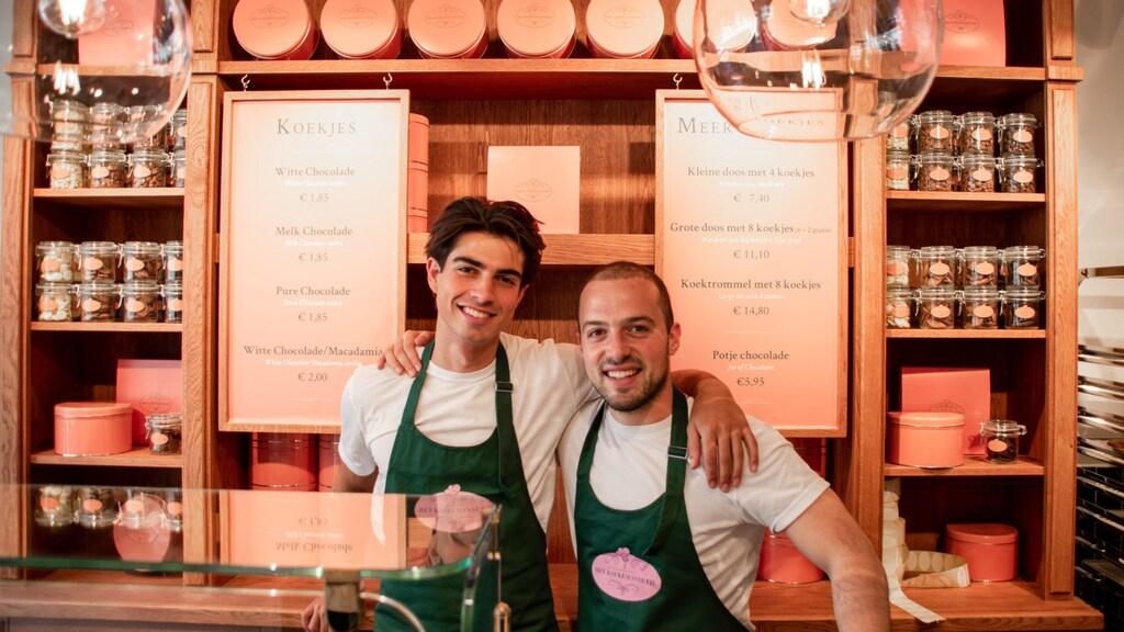 Alain en David - Het koekemannetje