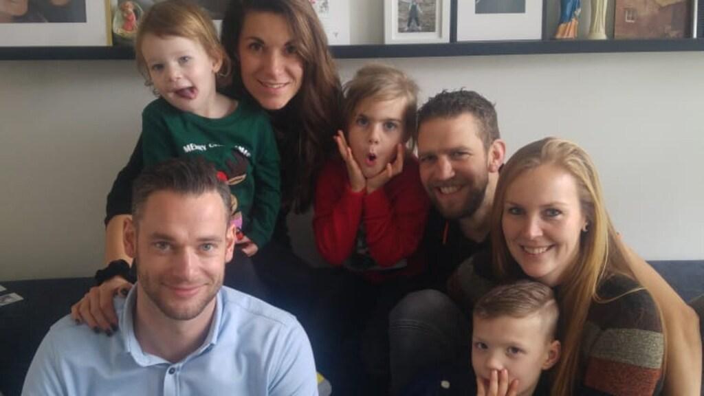 V.l.n.r.: Marc, Saar, Loes, Juul, Tim, Guus en Nen