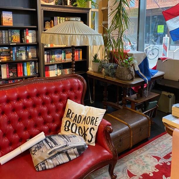 De ultieme boekwinkelervaring van Eva