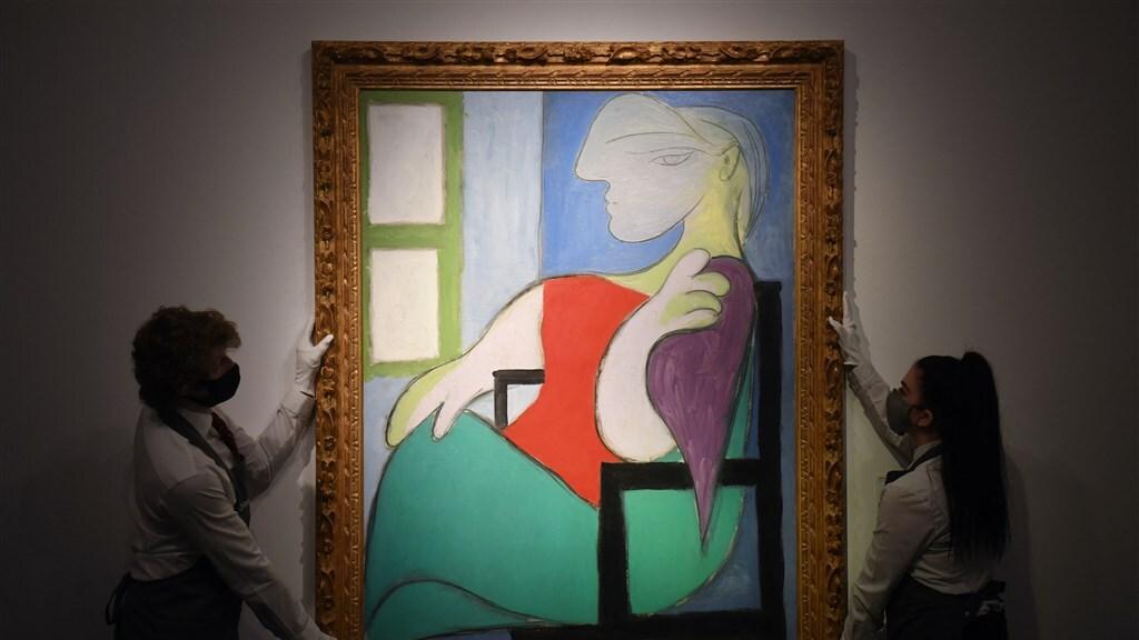 Dit schilderij van Pablo Picasso werd voor 85 miljoen euro verkocht.