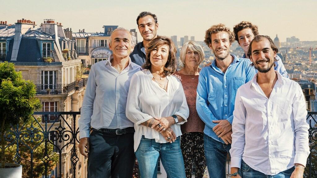 De familie Kretz in L'Agence: L''immobilier de luxe en famille