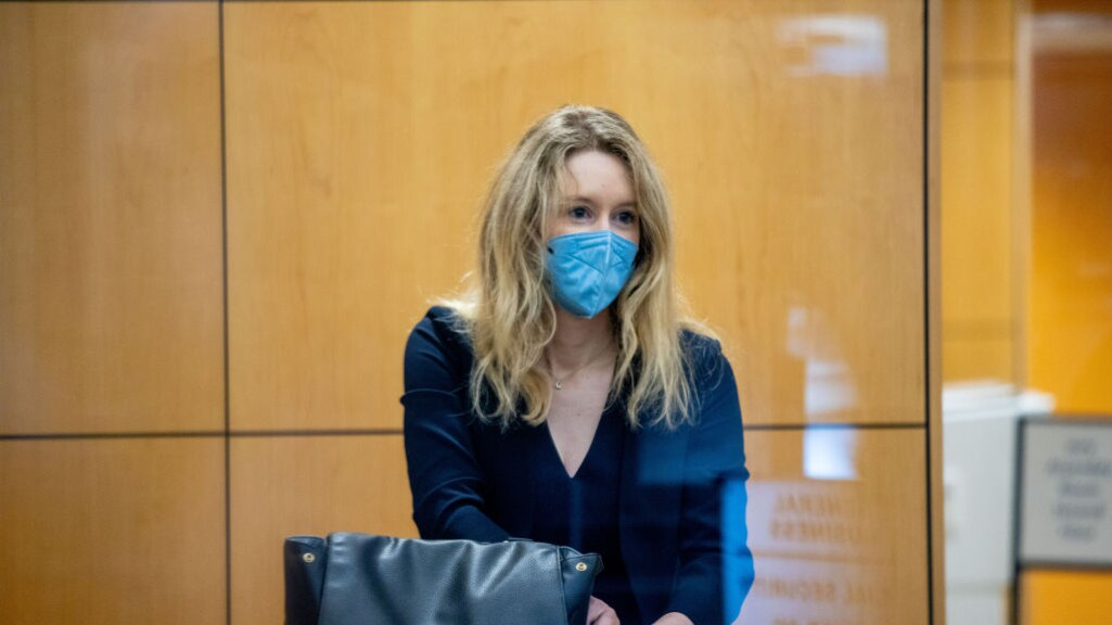 Elizabeth Holmes in de rechtbank