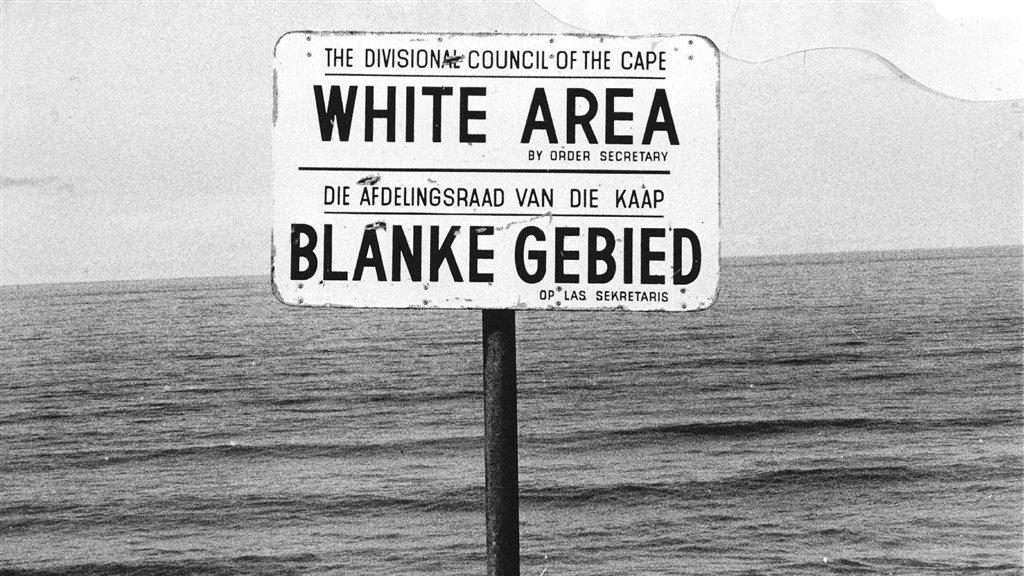 Apartheid in Zuid-Afrika (1978).
