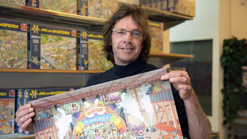 Omzet puzzelverkoper René van der Zwet gaat door plafond.