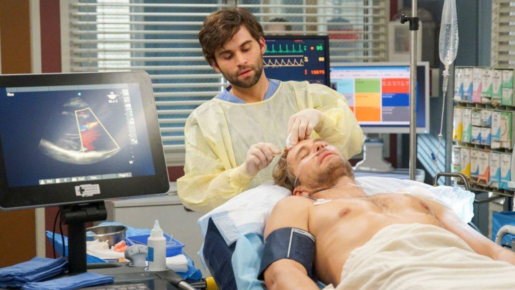Een scene uit de tv-serie Grey's Anatomy