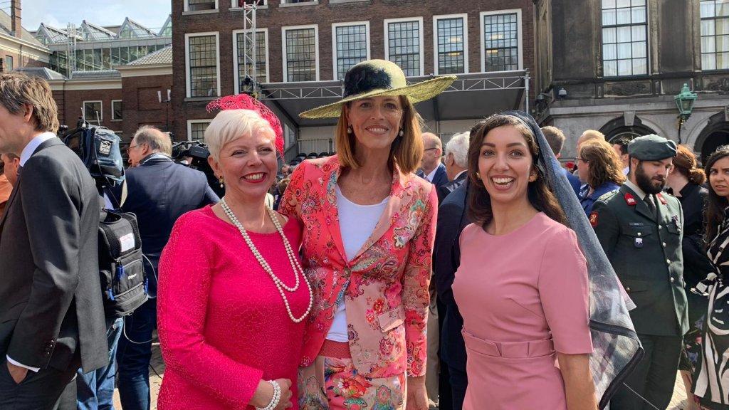 Prinsjesdag: Tweede Kamerlid Kirsten van den Hul, Eerste Kamerlid Petra Stienen & Devika Partiman