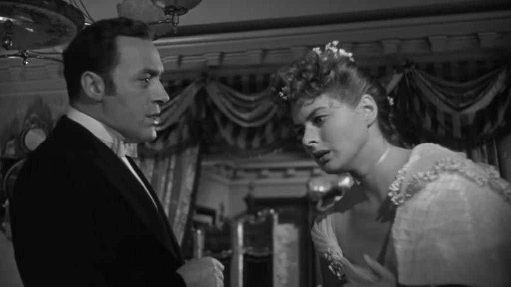 Screenshot uit de film Gaslight (1944)