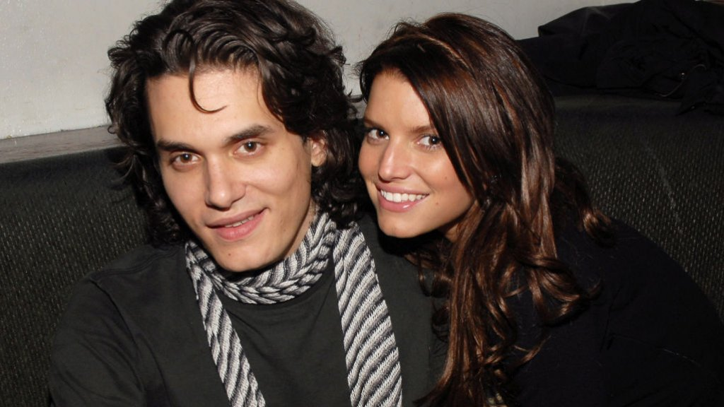 John Mayer en Jessica Simpson in 2007