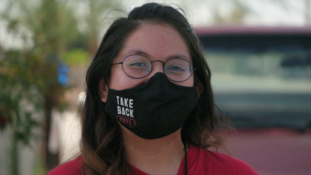 Campagnemedewerker Diana Mora-Torres