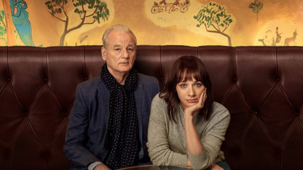Bill Murray en Rashida Jones in On the rocks